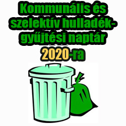 Szemét elszállítása 2020